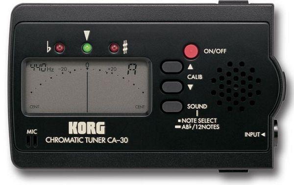 KORG CA-30 Kromaattinen viritysmittari L, discoland.fi