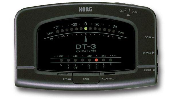 KORG DT-3, Autokromaattinen viritysmitta, discoland.fi
