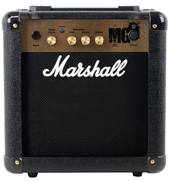 "MARSHALL Kitaravahvistin MG10 - Version 4, 10W 6 1/2"" kaiutin"