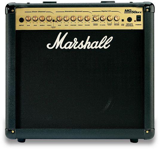 MARSHALL MG50FX, 50W Combo vahvistin, 12, discoland.fi