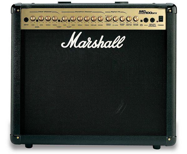 "MARSHALL MG100DFX, 100W vahvistin, 12"", discoland.fi"
