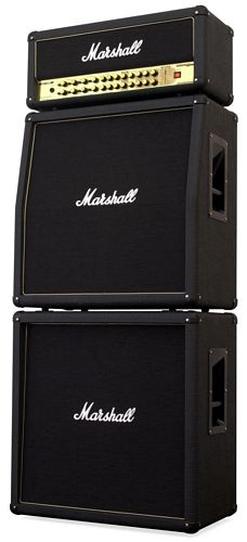 MARSHALL AVT412X Taitettu yläkaappi, 200W, 4 x 12