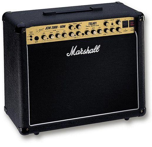 MARSHALL TSL601, 60W vahvistin, ECC83-et, discoland.fi