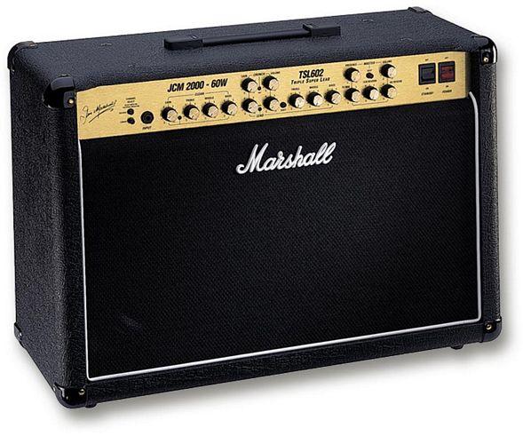 MARSHALL TSL602, 60 W vahvistin, ECC83-e, discoland.fi