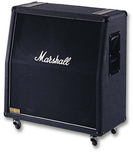 MARSHALL 1960A Taitettu yläkaappi, 300W, discoland.fi