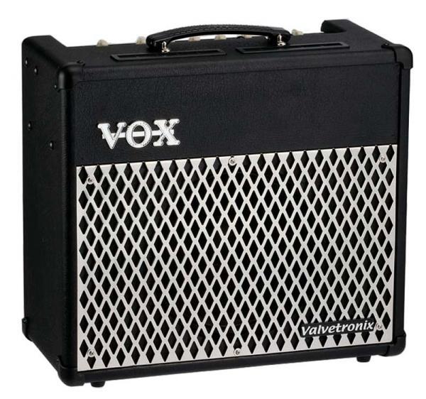 VOX VT15, Mallintava 15W vahvistin, 12AX, discoland.fi