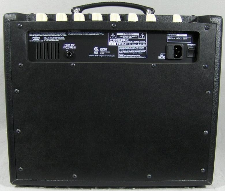 VOX VT40+, Mallintava 60W vahvistin, 12AX7-putki, 10