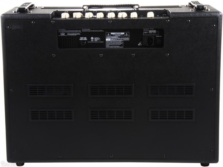 VOX VT120+ valvetronics Digitaalinen 120W vahvistin 12AX7-putkella ja 2x 12