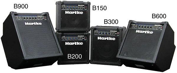 HARTKE B300, Combovahvistin 30W, 10