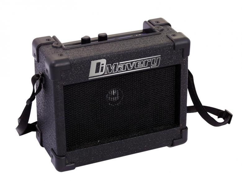 DIMAVERY Kitarvahvistin MA-50 5 W, 4