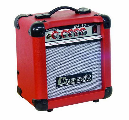 DIMAVERY GA-10  E-Guitar-Amp 10 W,  D-Re, discoland.fi
