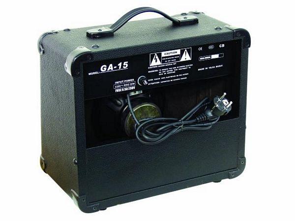 BUNDLE TARJOUS-> PAKETTI Dimavery Telecaster TL-201+ GA-15 E-Guitar-Amp 15 W, 6