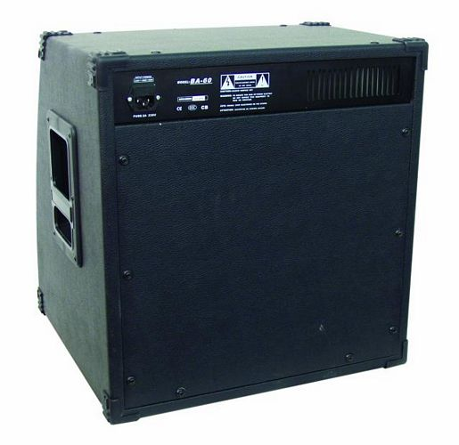 DIMAVERY KAMPPIS EI AKTIIVINEN..............BA-60 bass-amplifier 60W,12