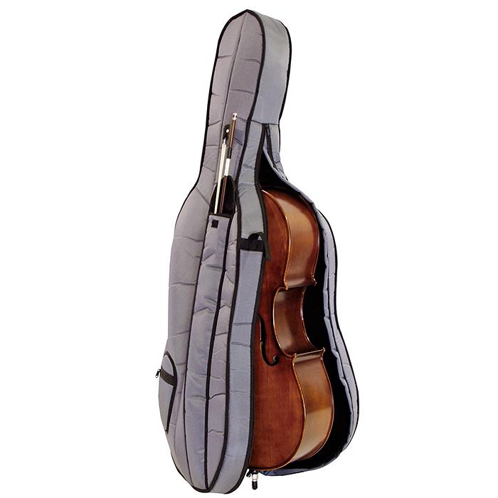 DIMAVERY Cello 4/4, Täysimittainen Sello + laukku ja jousi.