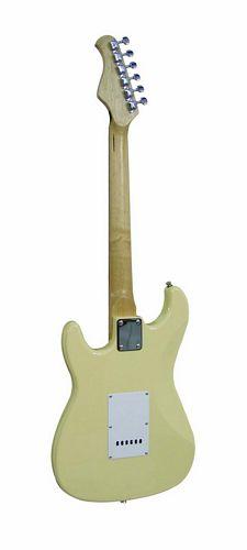 DIMAVERY ST-203 Sähkökitara ST - Style, Aloittelijoille, Kerman Värinen, E-Guitar cream