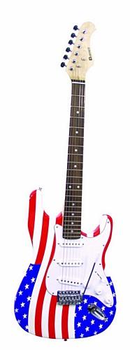 DIMAVERY ST-503 E-Guitar USA, ST Style S, discoland.fi