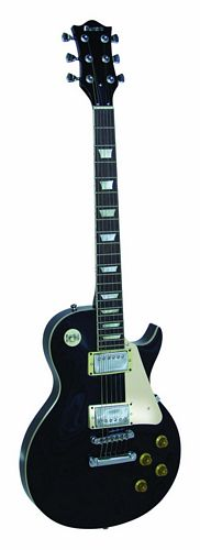 DIMAVERY LP-520 E-Guitar, black