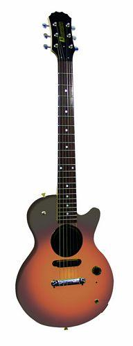 DIMAVERY J-500E Junior LP-Form sunburst, Juniori Lasten Kitara LP style