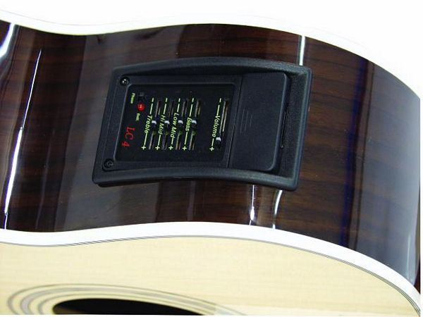 DIMAVERY AB-400 Acoustic Bass with CEQ, akustinen basso