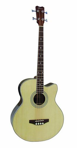 DIMAVERY AB-400 Acoustic Bass with CEQ, , discoland.fi