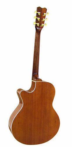 DIMAVERY JH-500 Akustinen cutaway-kitara, nature
