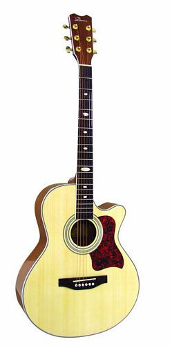 DIMAVERY JH-500 Akustinen cutaway-kitara, discoland.fi