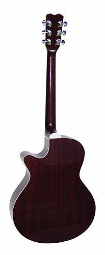 DIMAVERY JK-300 Akustinen Cutaway kitara väri nature. Akustinen kitara koko 40