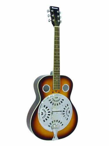 DIMAVERY RS-300, Resonaattorikitara, Resonator Guitar Sunburst