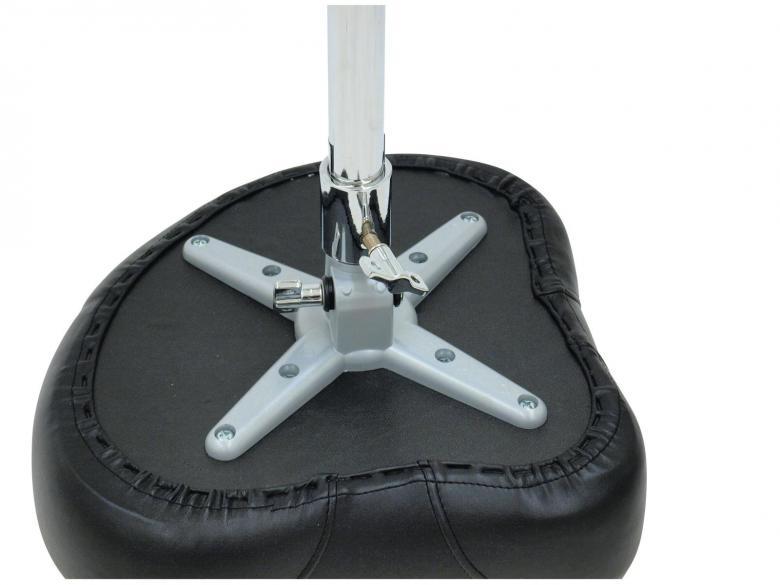 DIMAVERY DT-100 Rumpujakkara on ergonomiseti muotoiltu, korkeus on säädettävissä, malli satula :)