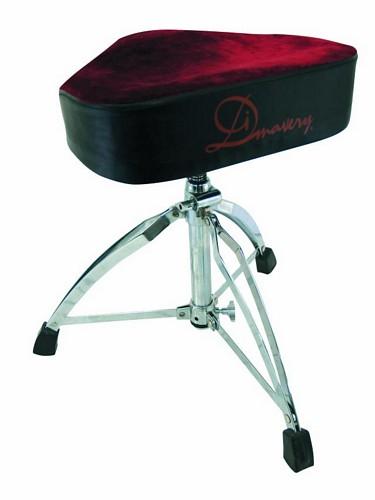 DIMAVERY DT-120  satulamallin rumpujakkara, rumpu tuoli.  ergonoimisesti muotoiltu sekä upealla pinnalla.Drum Throne Saddleform, Ergonomically Designed Seat (kuvasta poiketen kokonaan musta)