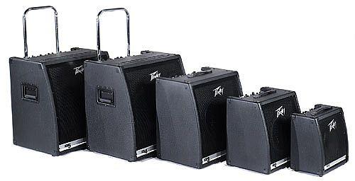 PEAVEY POISTUNUT TUOTE KB2, Combo 40W LF / 10W HF, bi-amp, Kolme erillistä kanavaa, 2-alueinen EQ. per kanava