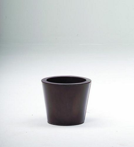 DECO Flowerpot brown o height 25cm, discoland.fi