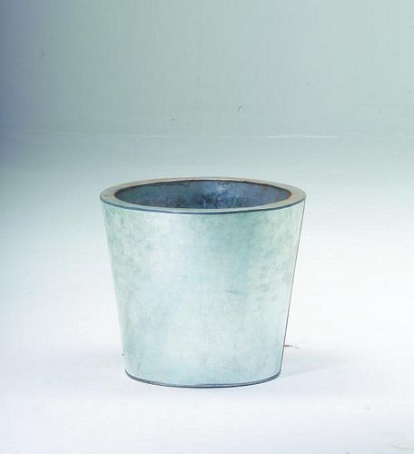 DECO Flowerpot zinc o height 35cm, discoland.fi