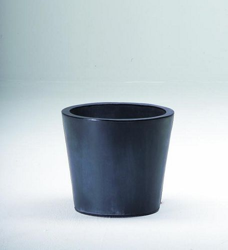 DECO Flowerpot zinc grey o height 35cm, discoland.fi