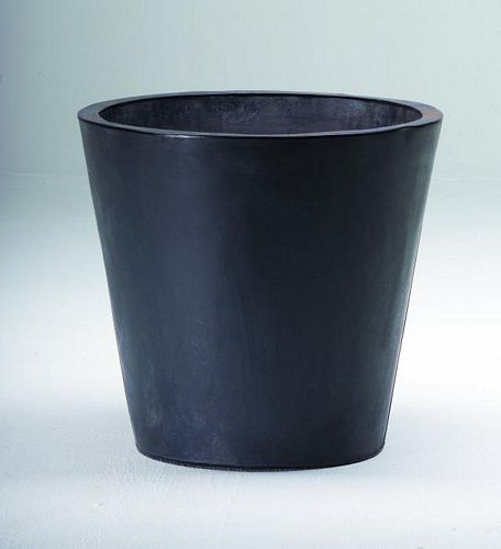 DECO Flowerpot zinc grey o height 55cm, discoland.fi