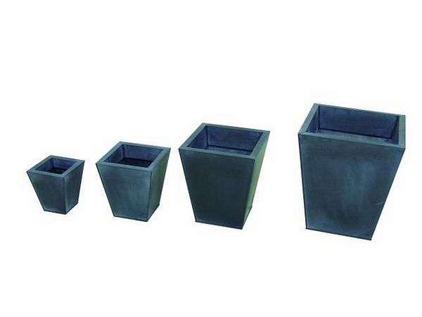 DECO Flowerpot set grey 55/45/35/25cm
