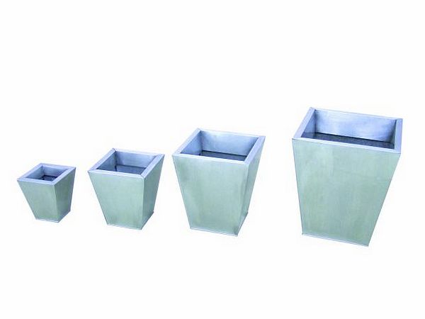 DECO Flowerpot set zinc 55/45/35/25cm, discoland.fi