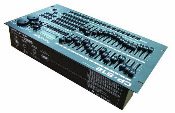 FUTURELIGHT CP-512/64 DMX-controller 16bit for many channels
