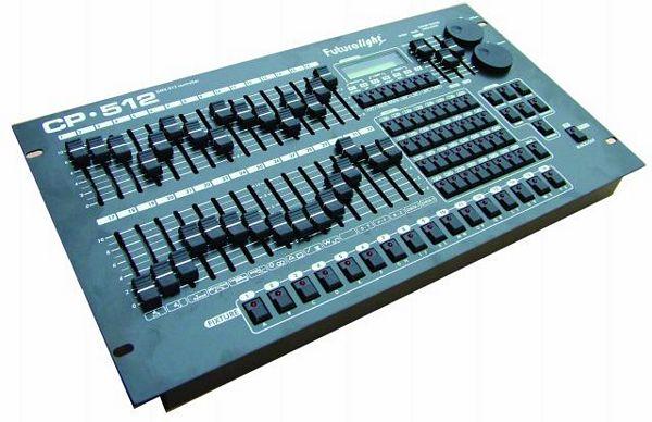 FUTURELIGHT CP-512/64 DMX-controller 16b, discoland.fi
