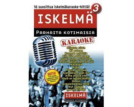 ISKELMÄKARAOKE  Iskelmäkaraoke 3 DVD l, discoland.fi