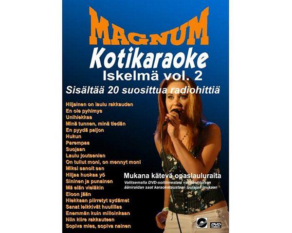 POISTO Magnum Kotikaraoke Iskelmä Vol 2, discoland.fi