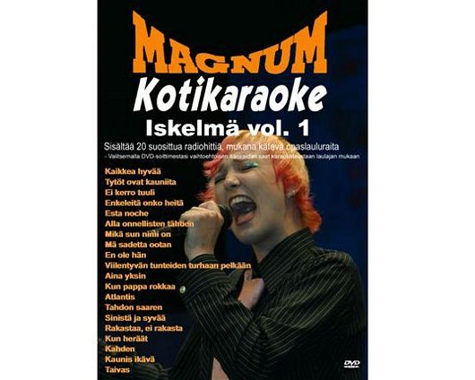 MAGNUM Magnum Kotikaraoke Iskelmä Vol.1, discoland.fi