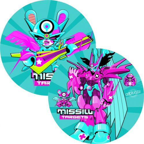 ORTOFON Slipmat missile target, Levysoit, discoland.fi
