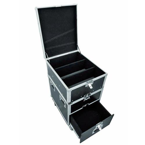 ROADINGER Kuljetuslaatikko vetolaatikostolla ja pyörillä yleiskäyttöön.