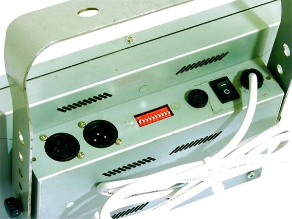 EUROLITE LED DMX Flash, 192 LEDs 35W, Strobe myös musiikki ohjauksella