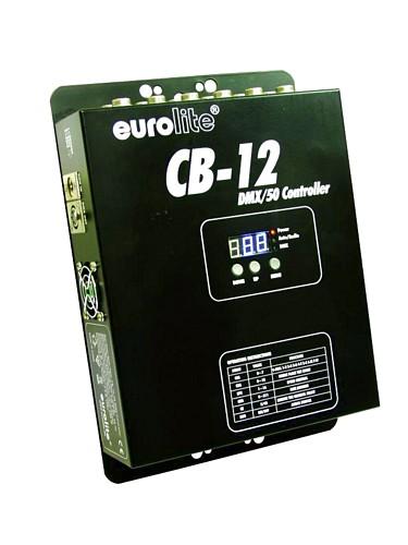 EUROLITE LED CB-12/50 DMX-ohjain EUROLIT, discoland.fi