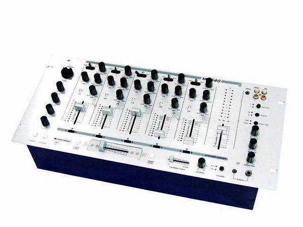 OMNITRONIC MX-540, ammattitason DJ mikseri, 19