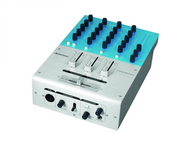 OMNITRONIC PM-3010 Pro DJ Mikseri DJ-Mixer 3+1-channel, 7-linjasisäänmenoa! Soveltuu ammatti sekä harrastekäyttöön. Laadukkaat faderit, 1kpl DJ mikrofoni, 4kpl,linjatasoista liitäntää sekä 3kpl levysoitin liitäntää, kuuloke esikuuntelu kanavakohtainen.