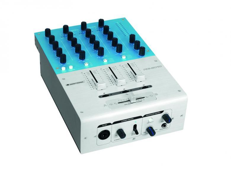 OMNITRONIC PM-3010 Pro DJ Mikseri DJ-Mix, discoland.fi