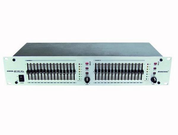 OMNITRONIC GEQ-215 XL equalizer 2x 15-ba, discoland.fi